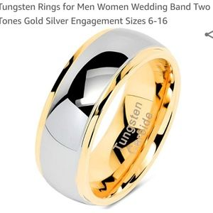 Other - Mens tungsten ring